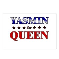 YASMIN for queen Postcards (Package of 8)