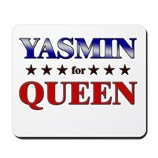 YASMIN for queen Mousepad