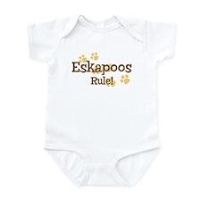 Eskapoos Rule Infant Bodysuit