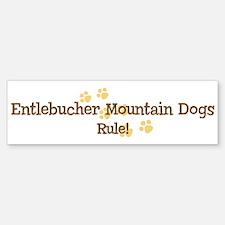 Entlebucher Mountain Dogs Rul Bumper Bumper Bumper Sticker