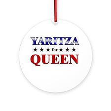 YARITZA for queen Ornament (Round)