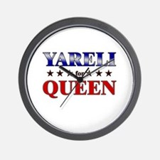 YARELI for queen Wall Clock