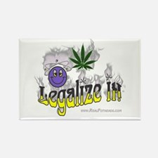 Marijuana Pot Shirts Gifts Rectangle Magnet (10 pa