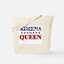 XIMENA for queen Tote Bag