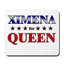 XIMENA for queen Mousepad