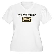 Toy Fox Terrier Dog Bone T-Shirt
