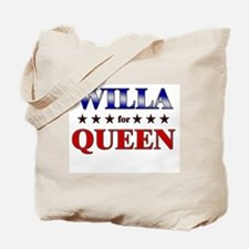 WILLA for queen Tote Bag
