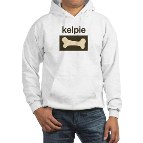 Kelpie Dog Bone Hooded Sweatshirt