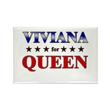 VIVIANA for queen Rectangle Magnet (10 pack)