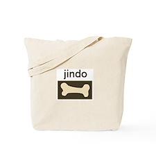 Jindo Dog Bone Tote Bag