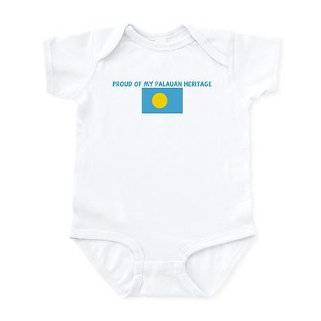 PROUD OF MY PALAUAN HERITAGE Infant Bodysuit