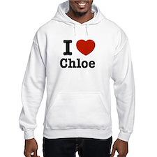I love Chloe Hoodie