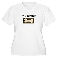 Fox Terrier Dog Bone T-Shirt