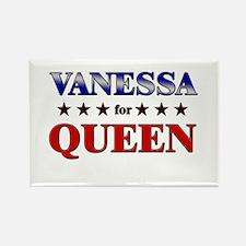 VANESSA for queen Rectangle Magnet