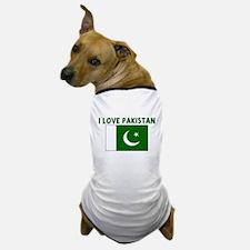 I LOVE PAKISTAN Dog T-Shirt