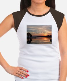 Lake Sunrise Women's Cap Sleeve T-Shirt