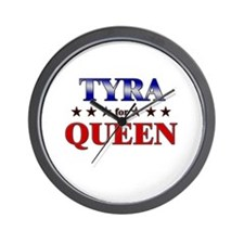 TYRA for queen Wall Clock