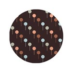 "Lolly Spots Polka Dot 3.5"" Button (100 pack)"