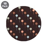 "Lolly Spots Polka Dot 3.5"" Button (10 pack)"