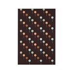 Lolly Spots Polka Dot Rectangle Magnet