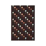 Lolly Spots Polka Dot Rectangle Magnet (10 pack)