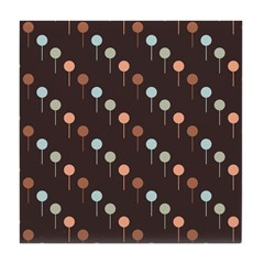 Lolly Spots Polka Dot Tile Drink Coaster
