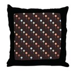 Lolly Spots Polka Dot Throw Pillow