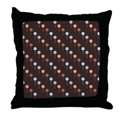Lolly Spots Polka Dot Throw Pillow