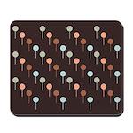 Lolly Spots Polka Dot Mousepad