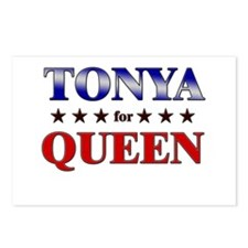 TONYA for queen Postcards (Package of 8)