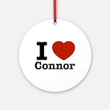 I love Connor Ornament (Round)