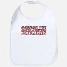 Corporate Zombie Bib