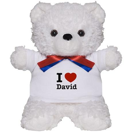 I love David Teddy Bear