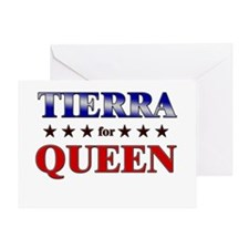 TIERRA for queen Greeting Card