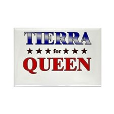 TIERRA for queen Rectangle Magnet