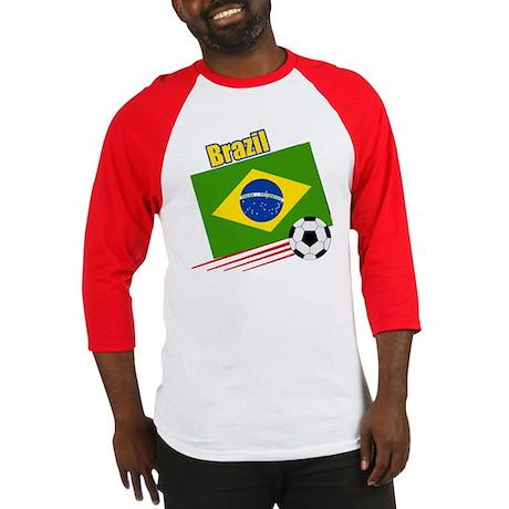 Brazil Soccer Team Baseball Jersey