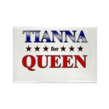 TIANNA for queen Rectangle Magnet