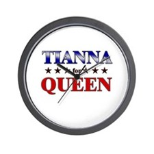 TIANNA for queen Wall Clock