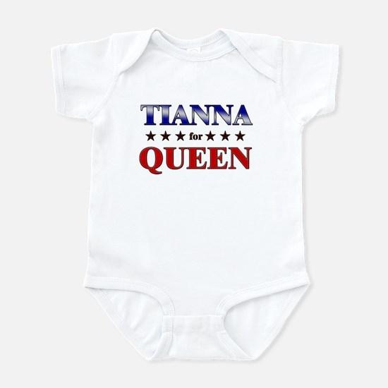 TIANNA for queen Infant Bodysuit