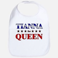 TIANNA for queen Bib