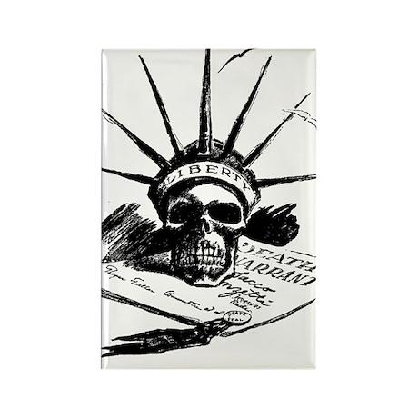 Death Warrant Rectangle Magnet (10 pack)