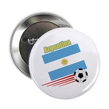 "Argentina Soccer Team 2.25"" Button (10 pack)"