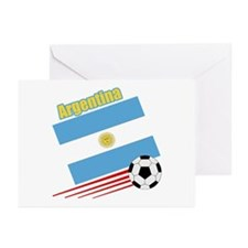 Argentina Soccer Team Greeting Cards (Pk of 10)