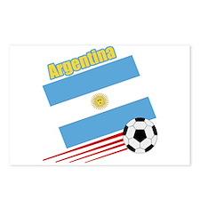Argentina Soccer Team Postcards (Package of 8)