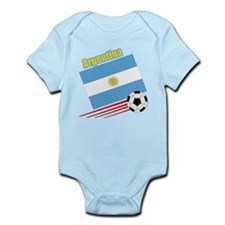 Argentina Soccer Team Infant Bodysuit