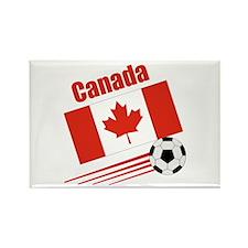 Canada Soccer Team Rectangle Magnet