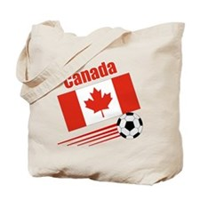Canada Soccer Team Tote Bag