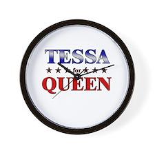 TESSA for queen Wall Clock