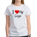 I Heart My Sage Women's T-Shirt