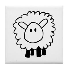 Sheepie Tile Coaster
